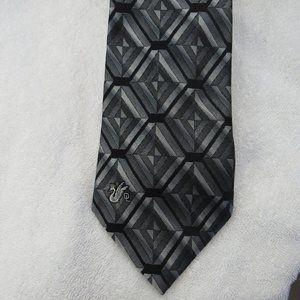 Don Loper Beverly Hills Tie 100% Silk Striped